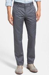 Men's Big And Tall Bonobos 'Weekday Warrior' Non Iron Slim Fit Cotton Chinos Friday Greys