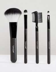 Monki Make Up Brush Set Black