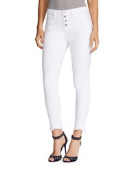 William Rast High Rise Ankle Length Pants White