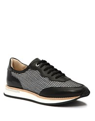 Aquatalia By Marvin K Noreen Lace Up Sneakers Black