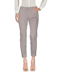 Care Label Casual Pants Light Brown