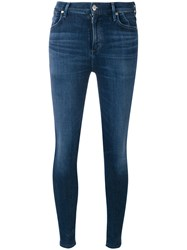 Citizens Of Humanity Denim Skinny Jeans Women Cotton Polyester Polyurethane Rayon 25 Blue