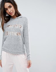 Boux Avenue Limited Addition Hooded Sweat Grey Marl Mix