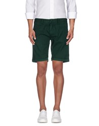 Sun 68 Trousers Bermuda Shorts Men Dark Green