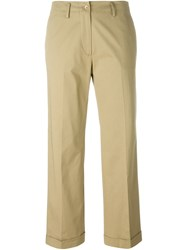 Etro Cropped Trousers Green