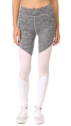 Free People Movement Intuition Leggings Grey Combo