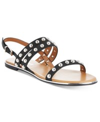 Report Caia Studded Flat Sandals Women's Shoes Black