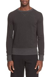 Men's Atm Anthony Thomas Melillo French Terry Sweatshirt Charcoal Heather