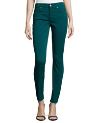 7 For All Mankind Gwenevere Twill Skinny Jeans Jade