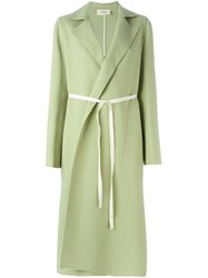 Ports 1961 Oversized Coat Green