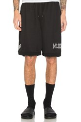 Marcelo Burlon Orlando Shorts Black