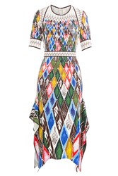 Peter Pilotto Printed Midi Dress Multicolor