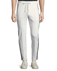 Vince Front Seam Track Trousers Leche