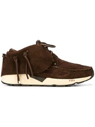 Visvim Chukka Lace Up Sneakers Brown