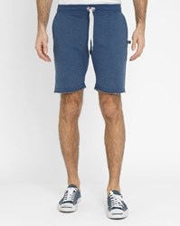 Sweet Pants Mottled Navy Terry Jogging Shorts