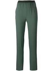 Antonio Marras Elasticated Waistband Trousers Green