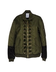 Steve J And Yoni P Jackets Military Green