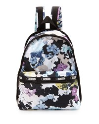 Le Sport Sac Lesportsac Basic Floral Print Backpack Euphoria