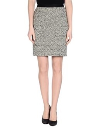 Emma Cook Knee Length Skirts Light Grey