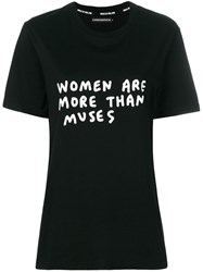 House Of Holland Muses T Shirt Black