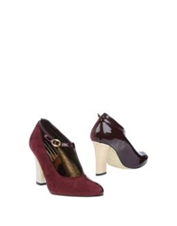 Chocolat D'or Shoe Boots Maroon
