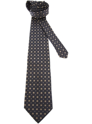 Gianfranco Ferre Vintage Patterned Tie Blue