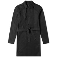A.P.C. Belted Trench Coat Black