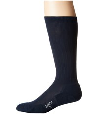 Thorlos Experia Dress Over The Calf Single Pair Navy Men's Crew Cut Socks Shoes