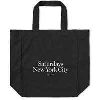Saturdays Surf Nyc Miller Standard Tote Bag Black