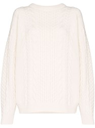 Ann Demeulemeester Cable Knit Jumper 60