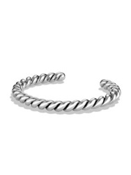 David Yurman Cable Cuff Bracelet Silver
