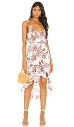 Sanctuary Palm Spring Button Front Dress In White. Prairie Days