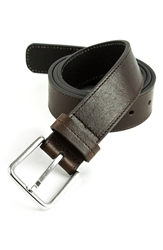 Andrew Marc New York 'Carmen' Belt Dark Brown