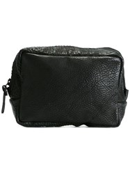 The Last Conspiracy Small Wash Bag Black