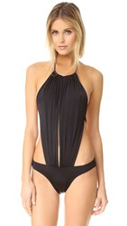 Agent Provocateur Tania Swimsuit Black