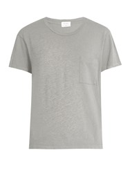 Re Done Originals X Hanes 1970 Boyfriend T Shirt Grey