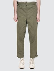 J.W.Anderson Jw Anderson Garment Dyed Army Trousers