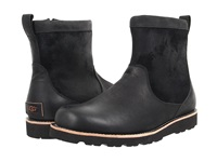 Ugg Munroe Tl Black Leather Men's Pull On Boots