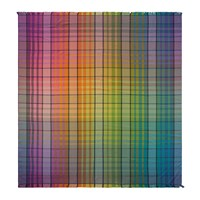 Amara Bright Check Double Beach Towel