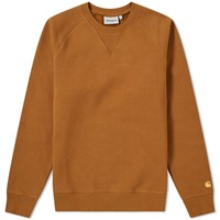 Carhartt Chase Sweat Brown