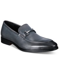 Alfani Men's Chandler Moc Toe Loafers Only At Macy's Men's Shoes Grey