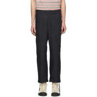 Junya Watanabe Navy Weather Cargo Pants