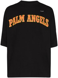 Palm Angels College Logo Print T Shirt 60