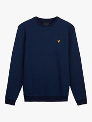 Lyle And Scott Crew Neck Sweatshirt Indigo