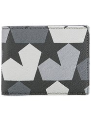 Ports 1961 Star Camouflage Wallet Black