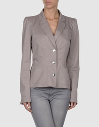 Thierry Mugler Blazers Light Grey