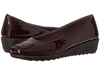 The Flexx Run Away Mosto Lapo Patent Women's Sandals Brown