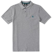 Paul Smith Regular Fit Ps Logo Polo Grey