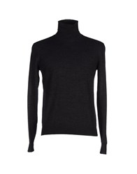 Seventy Knitwear Turtlenecks Men Steel Grey