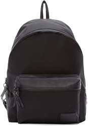 Nanamica Black Canvas Day Backpack